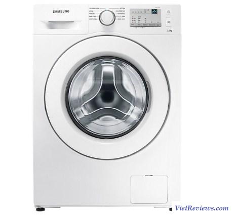 Máy giặt cửa ngang Samsung WW75J3283KW/SV 7.5KG