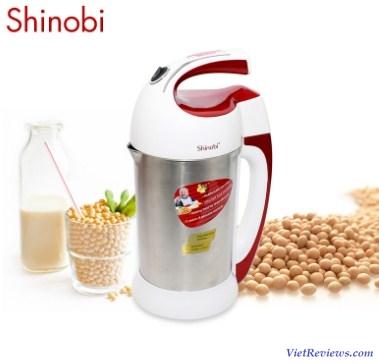Máy làm sữa đậu nành Shinobi 2 trong 1 (Trắng)