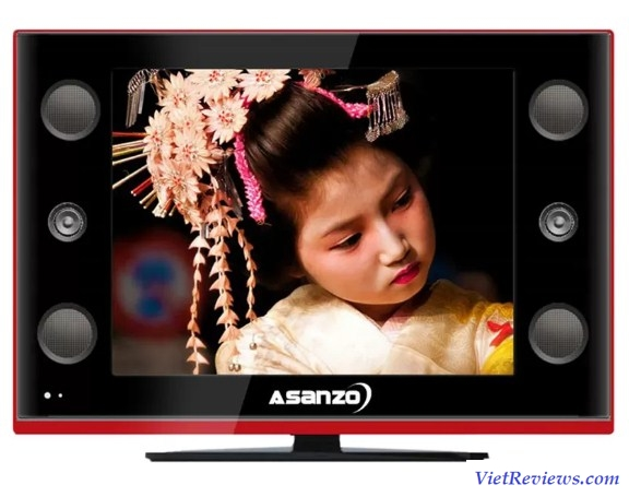 Tivi LCD Asanzo 18inch HD – Model 18K100US (Đen)