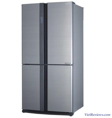 Tủ lạnh 4 cửa SHARP SJ-FX630V-ST 626L (Xám)