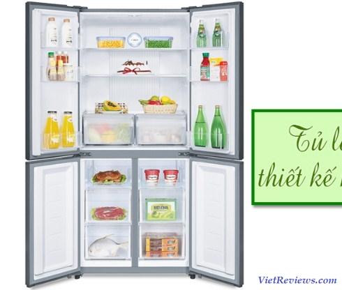 Tủ lạnh Aqua 4 cửa AQR-IG525AM(GW)
