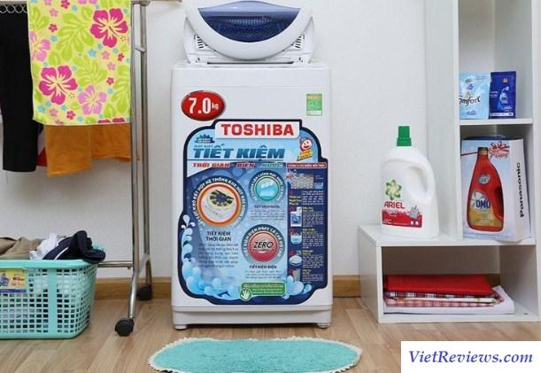 Máy giặt cửa trên Toshiba AW-A800SV WB 7KG