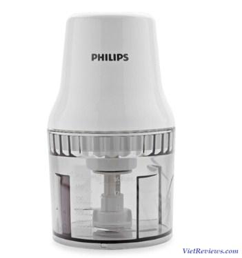 Máy xay thịt Philips HR1393 0.7L (Trắng)