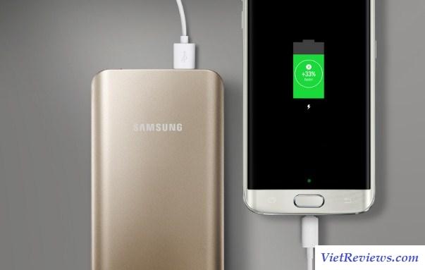 Pin sạc dự phòng Samsung 5200mAh (Vàng)