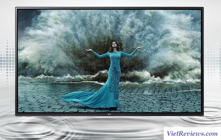 Smart Tivi LED LG 43 inch 2016 FHD WebOS 3.0 – Model 43LH605T (Đen)