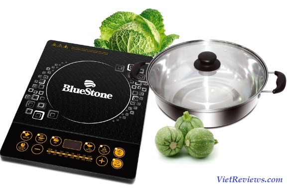 Bếp Điện Từ Bluestone ICB-6607+ Kèm Nồi Lẩu