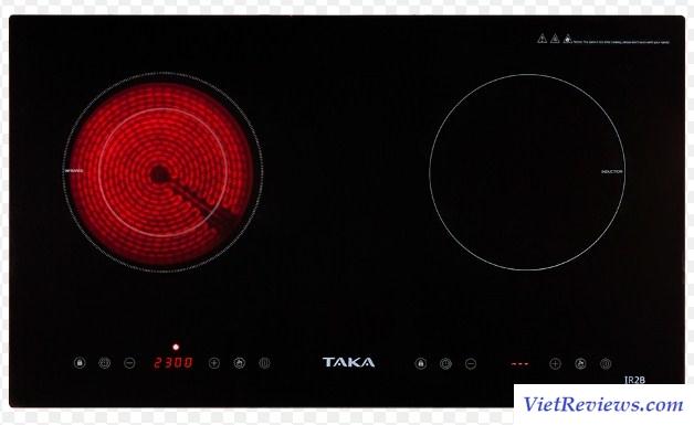 Bếp điện từ Taka IR2B (Đen)