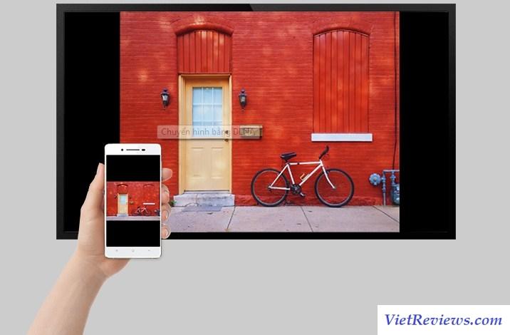 Cách chuyển hình từ điện thoại lên tivi bằng DLNA