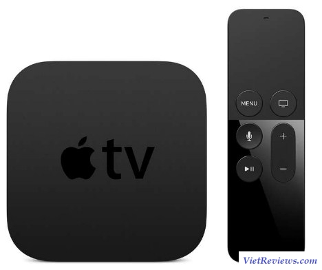 Smart box Apple TV Gen 4 64GB (Đen)