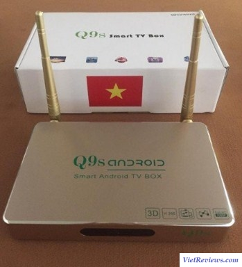 Smart box android Q9s