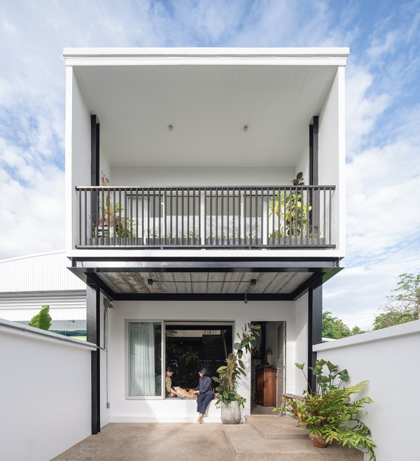 Nhà 2 tầng ở Thái